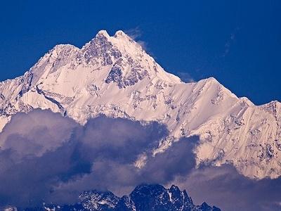 Kanchenjunga Peak View - Himalayas