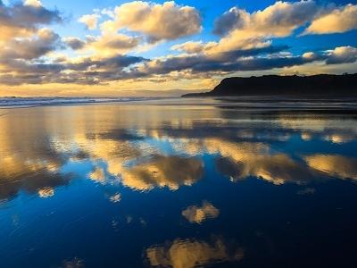 Karekare Beach From Sea - Auckland NZ