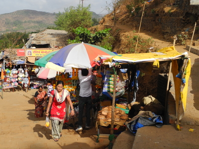Karla Caves Approach Shops