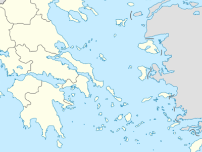 Karlovasi Is Located In Greece