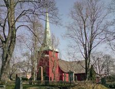 The Church At Karlskoga.