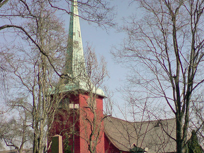 The Church At Karlskoga.