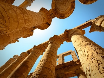 Karnak Temple In Luxor - Egypt