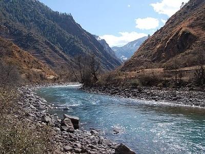 Karnali River In Nepal
