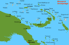 Location Map, Wuvulu Island