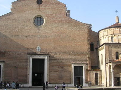 The Unfinished Façade Of Padua Cathedral