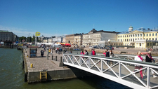 Kauppatori Market Square In Turku Finland