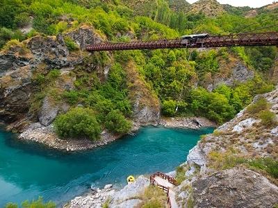 Kawarau Bridge @ Queenstown - South Island NZ