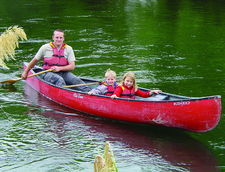 Kayaking With Blazing Paddles On The Whanganui River