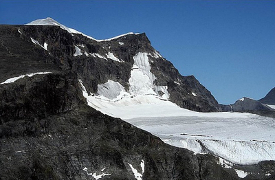 Kebnekaise, View From Tuolpagorni