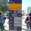 Directions Board Outside Kehl Train Station