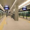 Nakanoshima Station Platform