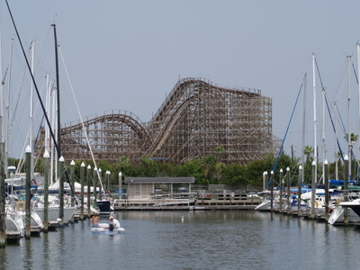 Kemah Marina And Boardwalk