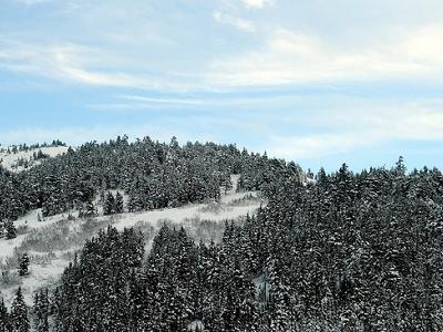 Kenai Mountain Foothills Near Hope Turnoff - Turnagain Arm Alaska