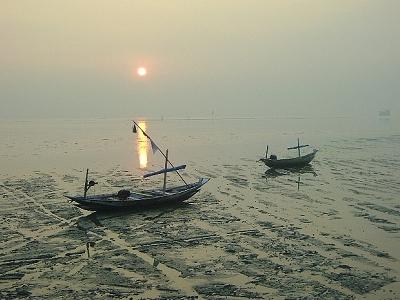 Kenjeran Beach Sunrise - East Java ID