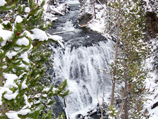 Kepler Cascades - Yellowstone - USA