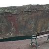 Kerid Crater Lake - Bench On Top