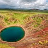 Kerid Crater Lake - South-West Iceland