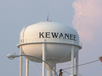 Kewaneewatertower