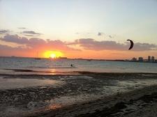 Key Biscayne FL - Sunset View