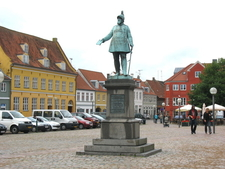 Kge Torv With Its Statue Of Frederick Vii