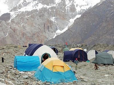 Khan Tengri Base Camp - Tian Shan