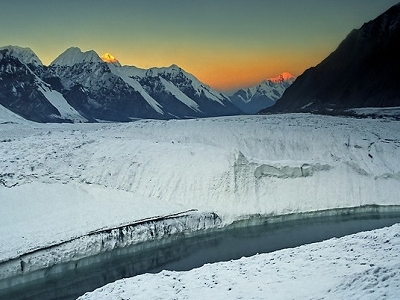 Khan Tengri & Pobeda - Tian Shan Mountains