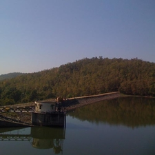 Khekranala Dam Top View