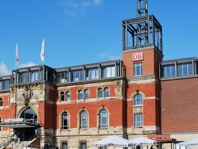 Kiel  Railway  Station East Front
