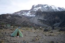 Camp Along Kilimanjaro Umbwe Route - Tanzania - Africa
