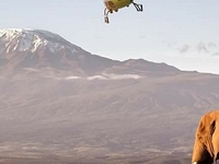 Kilimanjaro With Helicopter