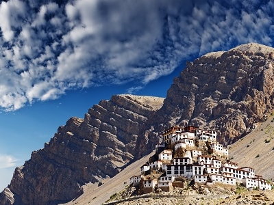 Ki Monastery In Spiti Valley