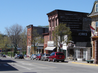 King Street The Main Road In Gananoque