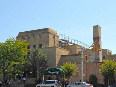Kingsway Jewish Center From Nostrand Street