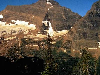 Kinnerly Peak Near Kintla - Glacier - USA