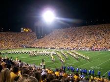 Kinnick Stadium At Night