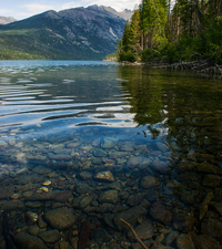 Kintla Lake - Glacier - Montana - USA