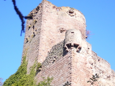 Keep Of The Château De Kintzheim