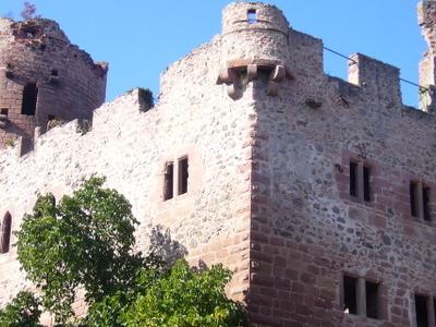 Ruins Of The Château De Kintzheim