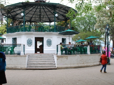 Kiosk In The Main Plaza Of The City