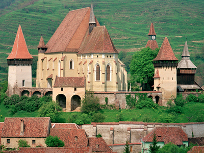 Biertan Village And Fortified Church