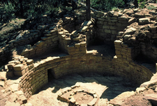 Kiva Ruins At Canyons Of The Ancients