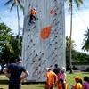 KK Adventure Park - Wall Climbing