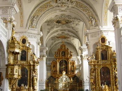 Klosterkirche Dissentis Innen