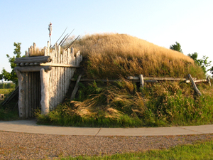 Knife River Indian Villages Sitio histórico nacional