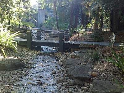 Kokoda Track Memorial Walkway Stream