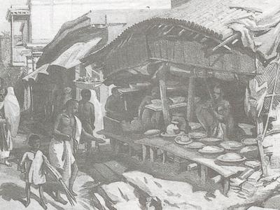Kolkata  Jan  Bazar Old