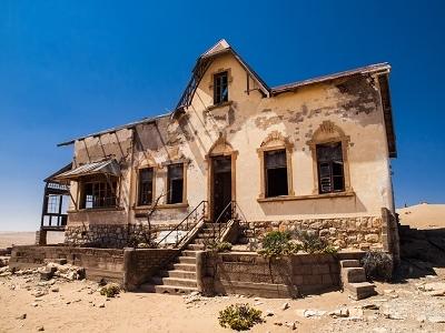 Kolmanskop Ghost Town Quartermaster's House - Namibia