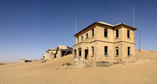 Kolmanskop Ghost Town View