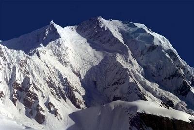 South Face Of Kongur Tagh